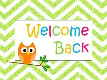 Obsessed image regarding welcome back sign printable